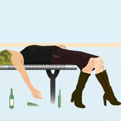 Wine Blog - Drunk after wine tasting session
