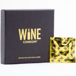 Pack of Wine Condoms