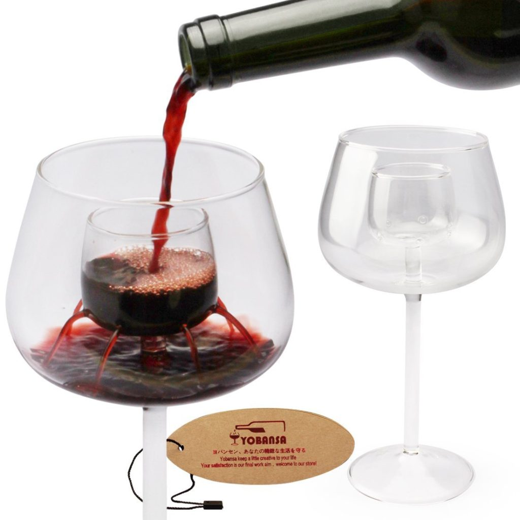 YOBANSA 2 in 1 Wine Glass and Aerator