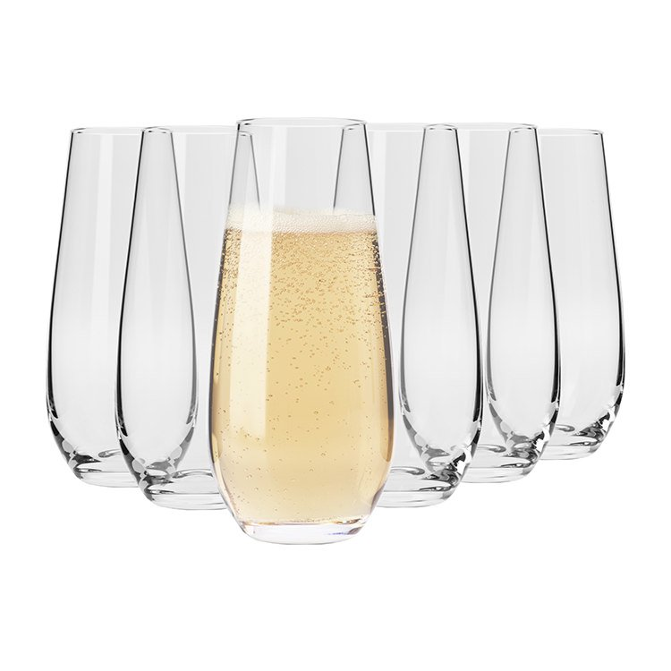 Best Champagne Stemless Flutes